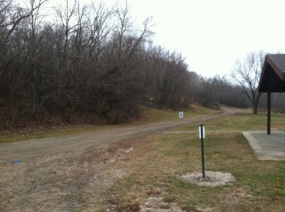 Kenyon Riverside, Main course, Hole 9 Midrange approach