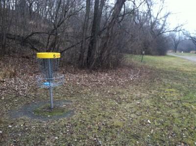 Kenyon Riverside, Main course, Hole 5 Putt