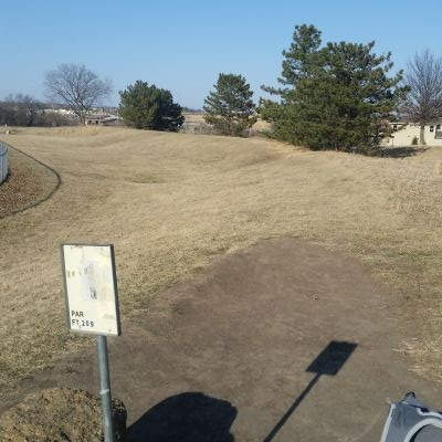 Pleasant Ridge Middle School, Blue Valley of Kansas, Hole 1 Tee pad