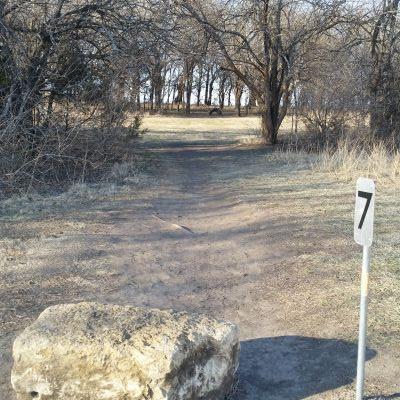 Pleasant Ridge Middle School, Blue Valley of Kansas, Hole 7 Tee pad