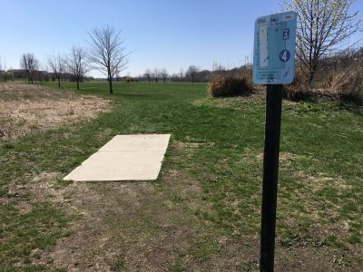 Blue Heron Park and Wetlands, Main course, Hole 4 Tee pad