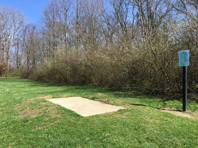 Blue Heron Park and Wetlands, Main course, Hole 10 Tee pad