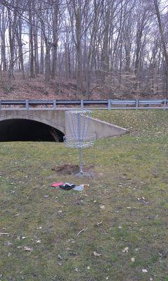 Churchill Park, Main course, Hole 1 Putt