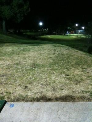 Verdugo Hills Golf Course, Main course, Hole 9 Long tee pad