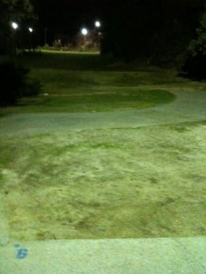 Verdugo Hills Golf Course, Main course, Hole 6 Long tee pad
