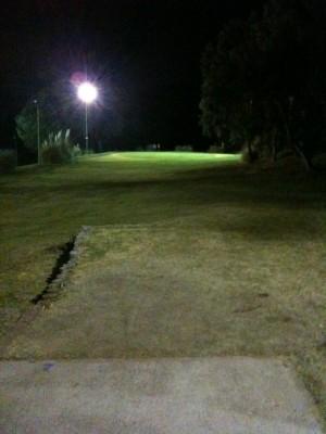 Verdugo Hills Golf Course, Main course, Hole 7 Long tee pad