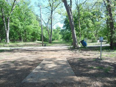 Kenneth L. King Park, Main course, Hole 12 Tee pad