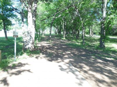Kenneth L. King Park, Main course, Hole 14 Tee pad