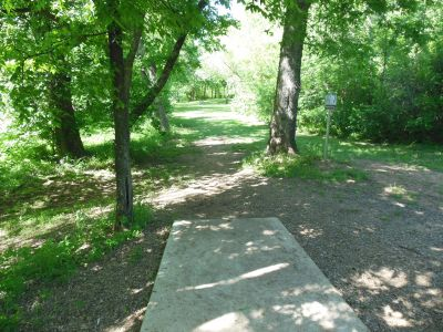 Kenneth L. King Park, Main course, Hole 5 Tee pad