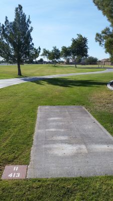 Maricopa Meadows, Main course, Hole 11 Long tee pad