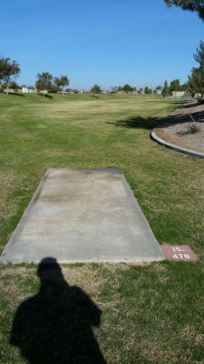 Maricopa Meadows, Main course, Hole 15 Long tee pad