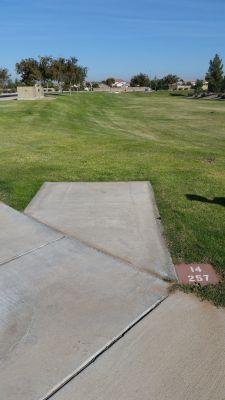 Maricopa Meadows, Main course, Hole 14 Long tee pad
