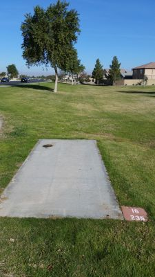 Maricopa Meadows, Main course, Hole 16 Long tee pad