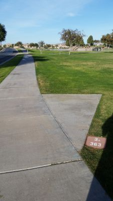 Maricopa Meadows, Main course, Hole 3 Long tee pad