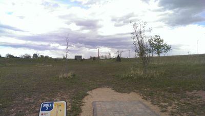 Hughes Stadium Course, Main course, Hole 3 Tee pad