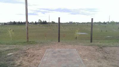 Hughes Stadium Course, Main course, Hole 5 Tee pad