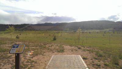 Hughes Stadium Course, Main course, Hole 12 Tee pad
