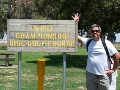 Mooney Grove Park, Perry Championship, Hole 1 Hole sign