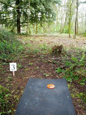 North Eco Park, Main course, Hole 3 Tee pad