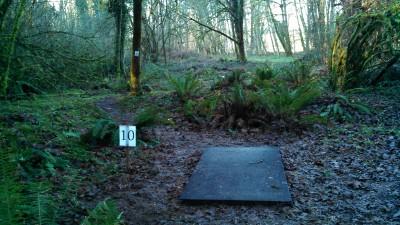 North Eco Park, Main course, Hole 10 Tee pad