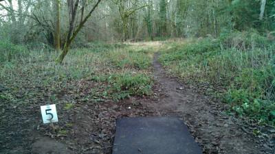 North Eco Park, Main course, Hole 5 Tee pad