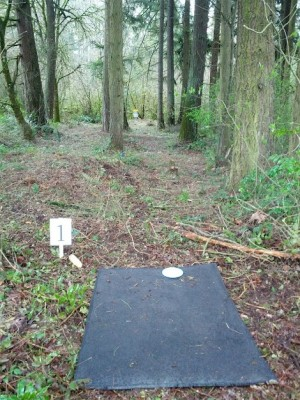 North Eco Park, Main course, Hole 1 Tee pad