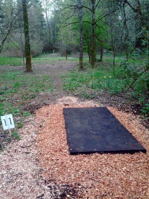 North Eco Park, Main course, Hole 11 Tee pad