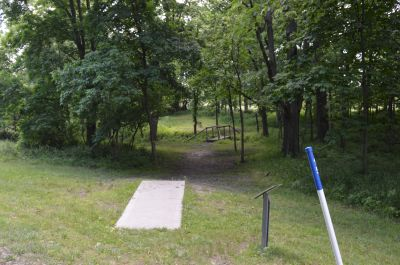 Paradise Point, Blackthorn, Hole 15 Tee pad