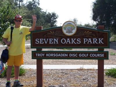 Troy Korsgaden, Main course, Hole 1 Hole sign