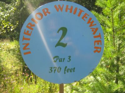 Clearwater DGC, Clearwater, Hole 2 Hole sign