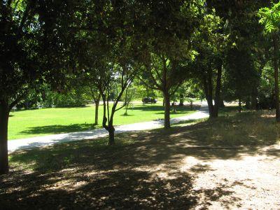 Santa Anita Park, Main course, Hole 9 Tee pad