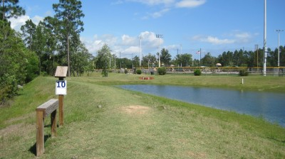 Freeport Regional Sports Complex, Chain Dragon, Hole 10 Tee pad