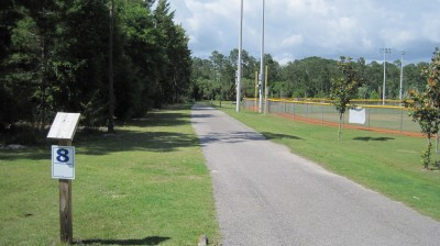 Freeport Regional Sports Complex, Chain Dragon, Hole 8 Tee pad