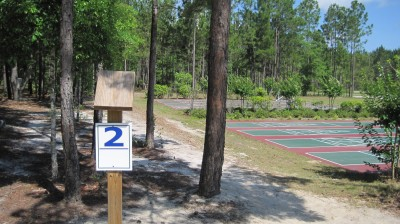 Freeport Regional Sports Complex, Chain Dragon, Hole 2 Tee pad