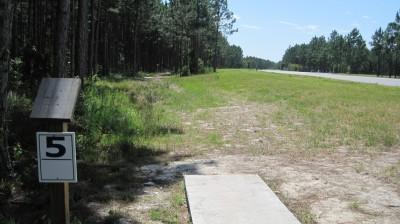 Freeport Regional Sports Complex, Chain Dragon, Hole 5 Long tee pad