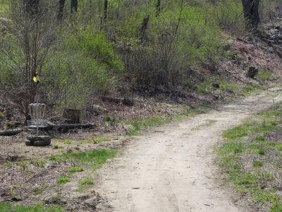 Petersham Country Club, Ross Run, Hole 8 Midrange approach