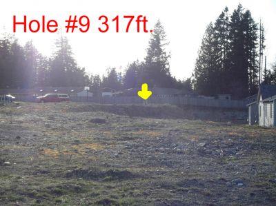 The Cove Neighborhood DGC, Main course, Hole 9 Tee pad