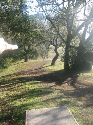 KOA Campground, Main course, Hole 17 Long tee pad