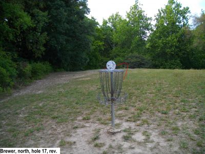Earl W. Brewer Park, North course, Hole 17 Reverse (back up the fairway)