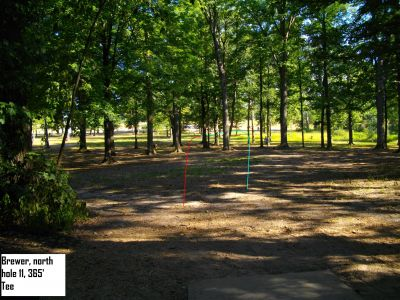 Earl W. Brewer Park, North course, Hole 11 Tee pad