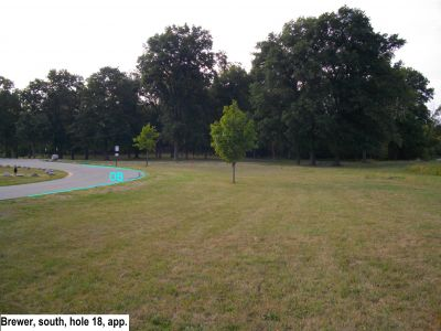 Earl W. Brewer Park, South course, Hole 18 Long approach