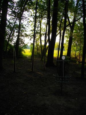 Earl W. Brewer Park, South course, Hole 16 Reverse (back up the fairway)