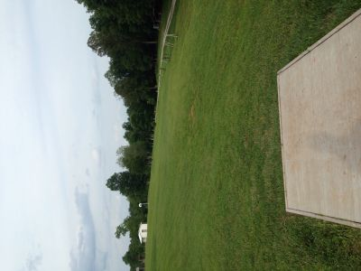Wood County Veterans Memorial Park, Main course, Hole 17 Tee pad