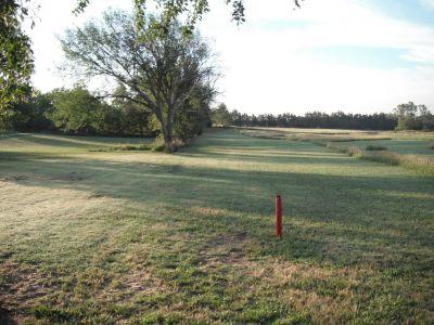 Konen Creek, Main course, Hole 2 Tee pad