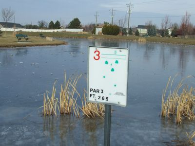 Settler's Park, Main course, Hole 3 Tee pad