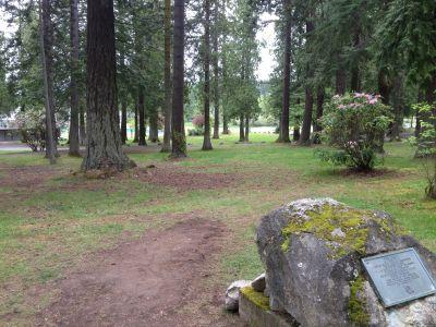 Lincoln Park, Main course, Hole 16 Tee pad