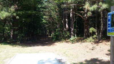Silver Creek Recreational Area, The Creek, Hole 13 Long tee pad