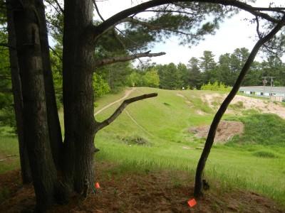 Silver Creek Recreational Area, The Creek, Hole 8 Long tee pad