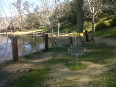 Yucaipa Regional Park, Main course, Hole 6 Reverse (back up the fairway)