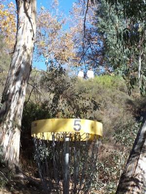 Yucaipa Regional Park, Main course, Hole 5 Reverse (back up the fairway)